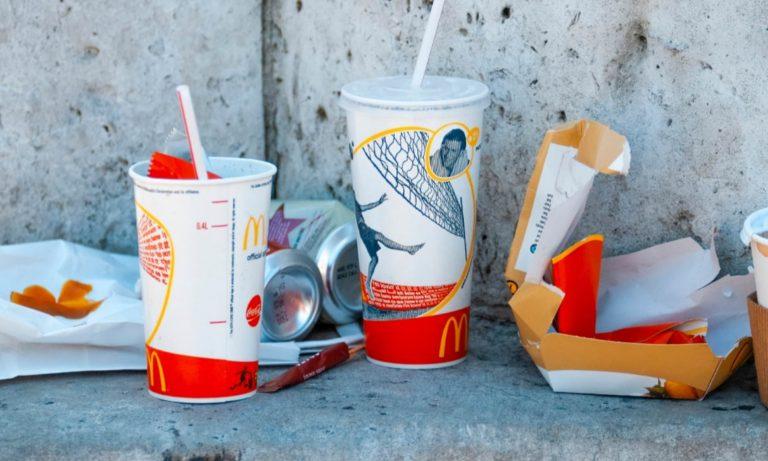 McDonald littering